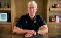 """مدیرعامل اپل برای فارغالتحصیلان دانشگاه """"اوهایو"""" پیام ویدئویی فرستاد"""