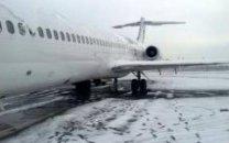 هواپیما حامل اعضای هیات دولت موفق به فرود در فرودگاه مهرآباد نشد