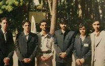 عکس آذری جهرمی در دوران دانشجویی
