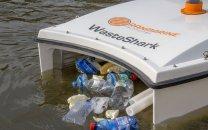 فیلم/ جمع آوری زبالههای درون آب با کمک فناوری جدید