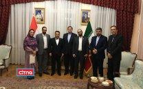 تقدیر سفیر ایران در مجارستان از منتخبان ایرانی در نمایشگاه ITU بوداپست (+تصاویر)