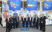 گزارش تصویری/ بازدید مدیران ارشد شرکت مخابرات از پاویون ایران در نمایشگاه تلکام بوسان