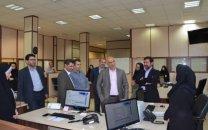 بازدید سرزدهی مدیرعامل شرکت مخابرات ایران از مرکز ۲۰۲۰ مالک اشتر تهران