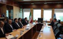 زمینههای همکاری مشترک مجموعهی شرکت مخابرات ایران با بانک ملت بررسی شد
