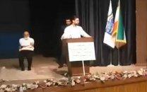 اقدام غیرمنتظرهی آذری جهرمی در برابر معترضان بازنشستهی شرکت مخابرات/ فیلم
