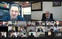 نشست آنلاین مدیرعامل شرکت مخابرات ایران با استاندار و فرمانداران شهرستانهای استان تهران