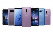 انواع گوشی موبایل سامسونگ در بازار چند؟