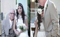 اشک های عروس 11 ساله و پدرش در جشن