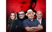 عکسی از پشت صحنه فیلم «شیشلیک» در اینستاگرام رضا عطاران