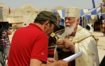آخرین نقشآفرینی چنگیز جلیلوند جلوی دوربین؛ اسقف مسیحی در سریال «سلمان فارسی»