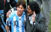پست احساسی لیونل مسی برای دیگو مارادونا