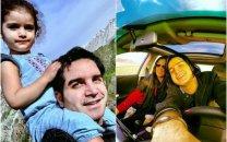 پست جالب محسن یگانه برای همسر و دخترش