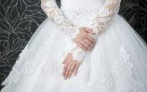 پشت پرده چهره بهم ریخته ندا دختر دانشجو تهرانی در لباس سفید عروسی
