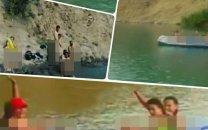 انتشار کلیپ کشف حجاب کامل چند دختر در دریاچه ولشت کلاردشت (+عکس)