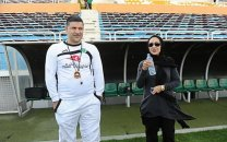 توییت نیکی کریمی در حمایت از حضور بانوان در ورزشگاه