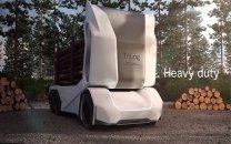 کامیون بدون راننده سوئدی ۱۶ تن بار به مقصد میبرد