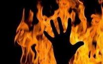 شوهر غیرتی وقتی فیلم سیاه شیلا با 5 جوان فامیل را دید او را به آتش کشید