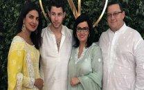 جشن ازدواج خواننده پاپ با بازیگر هندی (+عکس)