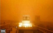 طوفان شن یزد را با خود برد
