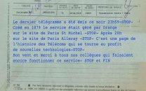 فرانسه با تلگرام خداحافظی کرد