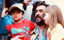 شهاب حسینی و پسرش همبازی شدند