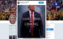 پس لرزه توئیت ضدایرانی ترامپ درباره تحریم ها