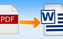 چگونه یک فایل PDF را به Word تبدیل کنیم؟