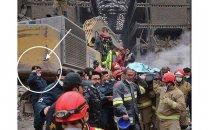 زیبا ترین احترام نظامی به پیکر آتش نشان در پلاسکو
