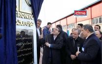 افتتاح بزرگترین خط تولید پیوسته مبدلهای انرژی الکتریکی شرکت نیان الکترونیک با حضور وزیر صمت