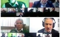 برگزاری جلسهی هیات امنای پژوهشگاه ICT به صورت ویدئوکنفرانس
