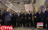 تصاویر حضور وزیر ارتباطات ایران در نمایشگاه باکوتل