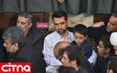 گزارش تصویری سیتنا/ حضور آذری جهرمی و پسرانش در مراسم شب قدر و بیست و سوم ماه مبارک رمضان در حسینیهی همدانیها