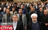 گزارش تصویری/ دکتر روحانی در ضیافت افطار با اصحاب رسانه