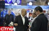 گزارش تصویری سیتنا/ بازدید مدیرعامل رایتل از نمایشگاه مطبوعات