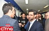 گزارش تصویری/ حضور وزیر ارتباطات در اختتامیه جشنواره وب و موبایل ایران