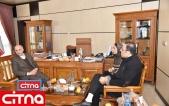 گزارش تصویری بازدید مدیران سیتنا از پژوهشگاه فضایی ایران