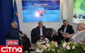 گزارش تصویری از مهمانان سیتنا در آخرین روز نمایشگاه ایران تلکام