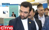 گزارش تصویری از بازدید وزیر ارتباطات از پاویون ایران در نمایشگاه تلکام بوسان