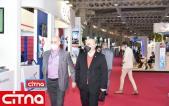 گزارش تصویری/ بازدید مدیرعامل سابق شرکت مخابرات ایران از نمایشگاه تلکام 99