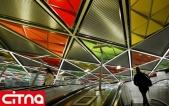 گزارش تصویری/ متروی شکوهمند مسکو تحت پوشش wifi