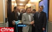 تصاویر/ افتتاح دستاوردهای شرکت مخابرات ایران در فاز 3 شبکه ملی اطلاعات