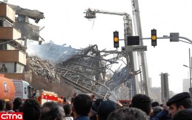 قطع ۳۵۰۰ شماره تلفن محدوده چهارراه استانبول در پی حادثه پلاسکو
