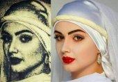 تصویر بازسازی شدهی زلیخا همسر عزیز مصر