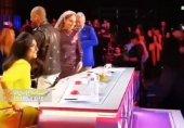عکس/ مهناز افشار داور مسابقه استعدادیابی در کنار دو خواننده لسآنجلسی!