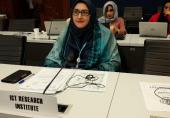 """ارائهی گزارش سومین جلسه «گروه مطالعاتی یک» در """"ITU"""" توسط گزارشگر ارشد پژوهشگاه ICT"""