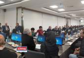 در اولین جلسهی هیات مدیرهی سندیکای مخابرات با ترکیب جدید، انتخاب شدند: ریاضی، رئیس هیات مدیره؛ کهزادی، نائب رئیس هیات مدیره؛ رستگار، دبیر سندیکا و احتشامیفرد، خزانه دار