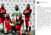 صدری: موفقیت بانوان غیور و با حجاب بسکتبال کشور در عرصههای بین المللی نشان از شایستگی والای جوانان دیندار ایران اسلامی است