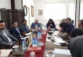 نشست مشترک رئیس پژوهشگاه ICT با رئیس دانشگاه آزاد تهران غرب