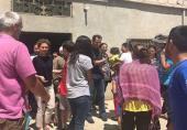بشار اسد و خانواده در خیابانهای حماه + ویدیو