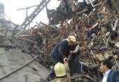 اظهار تأسف توئیتری روحانی از حادثه آتش سوزی پلاسکو